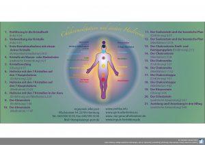 CDs Chakrameditation und andere Heilreisen mit 7 Kristallen für Erwachsene